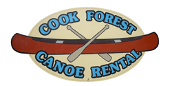 Cook Forest Canoe Rental's New Logo